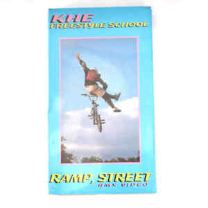 KHE BMX Video VHS Kassette Freestyle RAMP SCHOOL Tricks und Tipps History