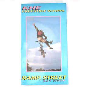KHE BMX Video VHS Kassette Freestyle RAMP SCHOOL Tricks und Tipps History