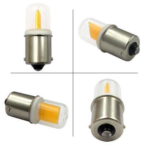 10x BA15S 1156 1141 S8 LED Car bulb COB 1511 DC12V 3W Ceramics Lamp Warm//White