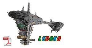 CUSTOM-Bauanleitung-UCS-Nebulon-B-LEGO-Steinen-STAR-WARS-Keine-Steine
