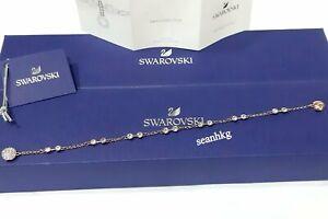 Details about Swarovski Remix Charm Carrier Bracelet Size M ROS crystal  Authentic MIB 5435651