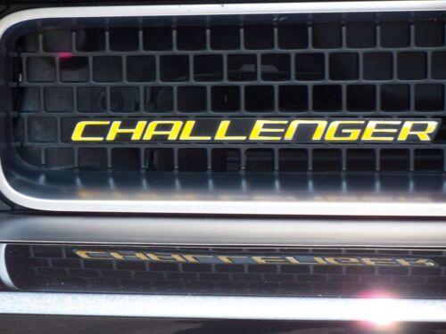 STICKER OVERLAY fits 2008 2009 DODGE CHALLENGER CHALLENGER grill emblem DECAL