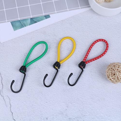 3Pcs//set camping tent elastic rope buckle elasticity fixed straps accessoriesZJP