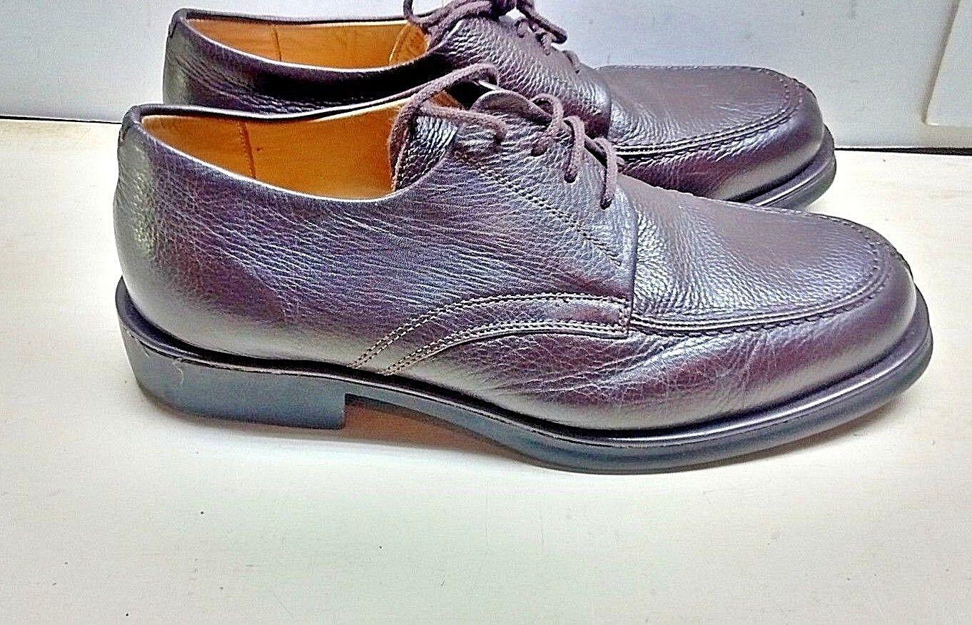 Sandro Moscoloni 9 D braun Leather Vineyard Split Oxford Dress Casual schuhe Men