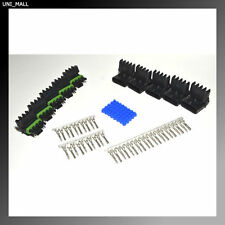 Delphi Packard Weatherpack 2 Pin Terminal Kit 16-14 AWG