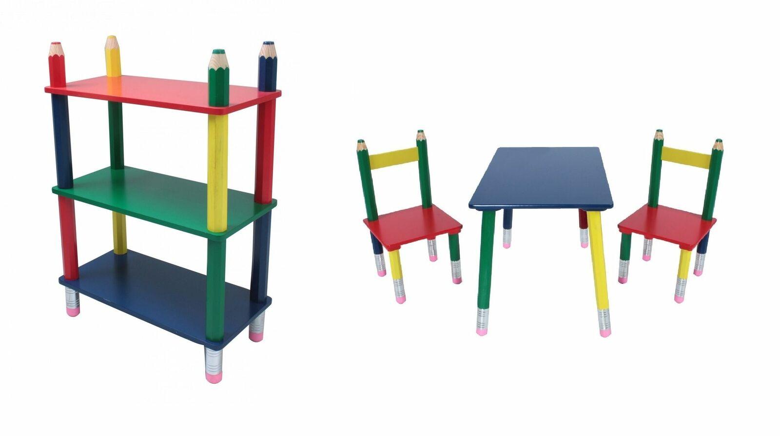 Enfants étagère mobilier pour enfants enfants table chaise chaise enfants chambre d'enfant enfants table