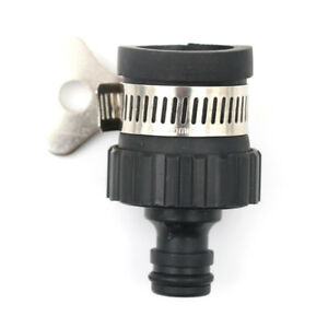 Details About Car Wash Water Gun Universal Joint Quick Pipe Connector Hose Wash Machine Tap Fg