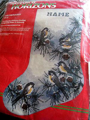 Monarch Horizons Needlepoint Stocking Kit,TO GRANDMOTHER'S HOUSE,Reinardy,XS18