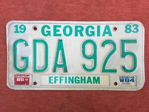🇺🇸 US Kennzeichen Nummernschild Licenseplate  USA   GEORGIA   GDA 925 🇺🇸