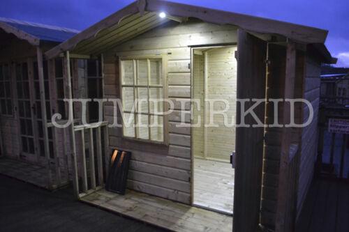 Lumières DEL pour système solaire stable 12 V hangar appartement lumineux off grid