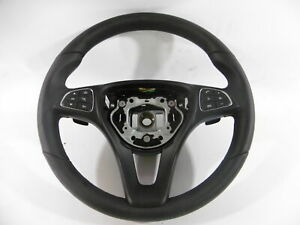MERCEDES-C-CLASS-W205-MULTIFUNCTION-STEERING-WHEEL-WITH-PADDLE-SHIFT-A0004605003