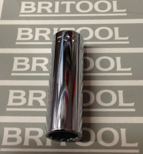 """NEW Old Style BRITOOL DDBM12 1//4/"""" Drive 12 Point DEEP SOCKET 12mm"""
