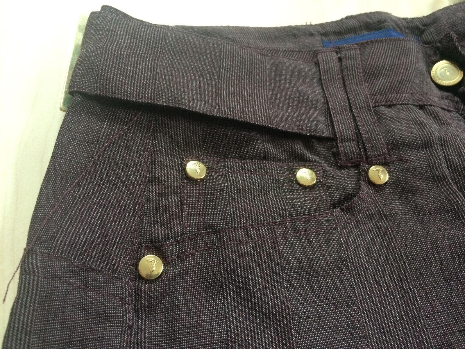 TRUSSARDI Jeans  Bermudas  Gr. 36 36 36 38  Nadelstreifen  overdyed  NEU | Attraktiv Und Langlebig  05dee7