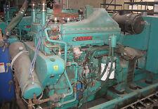 Cummins Qsk19g Chp Cogen Generator Set 334 Kw Natural Gas Or Propane K19 Gas