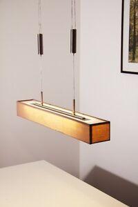 ... LED Pendellampe Leuchte Haengeleuchte Stoff Pendelleuchte Haengelampe  Esszimmer