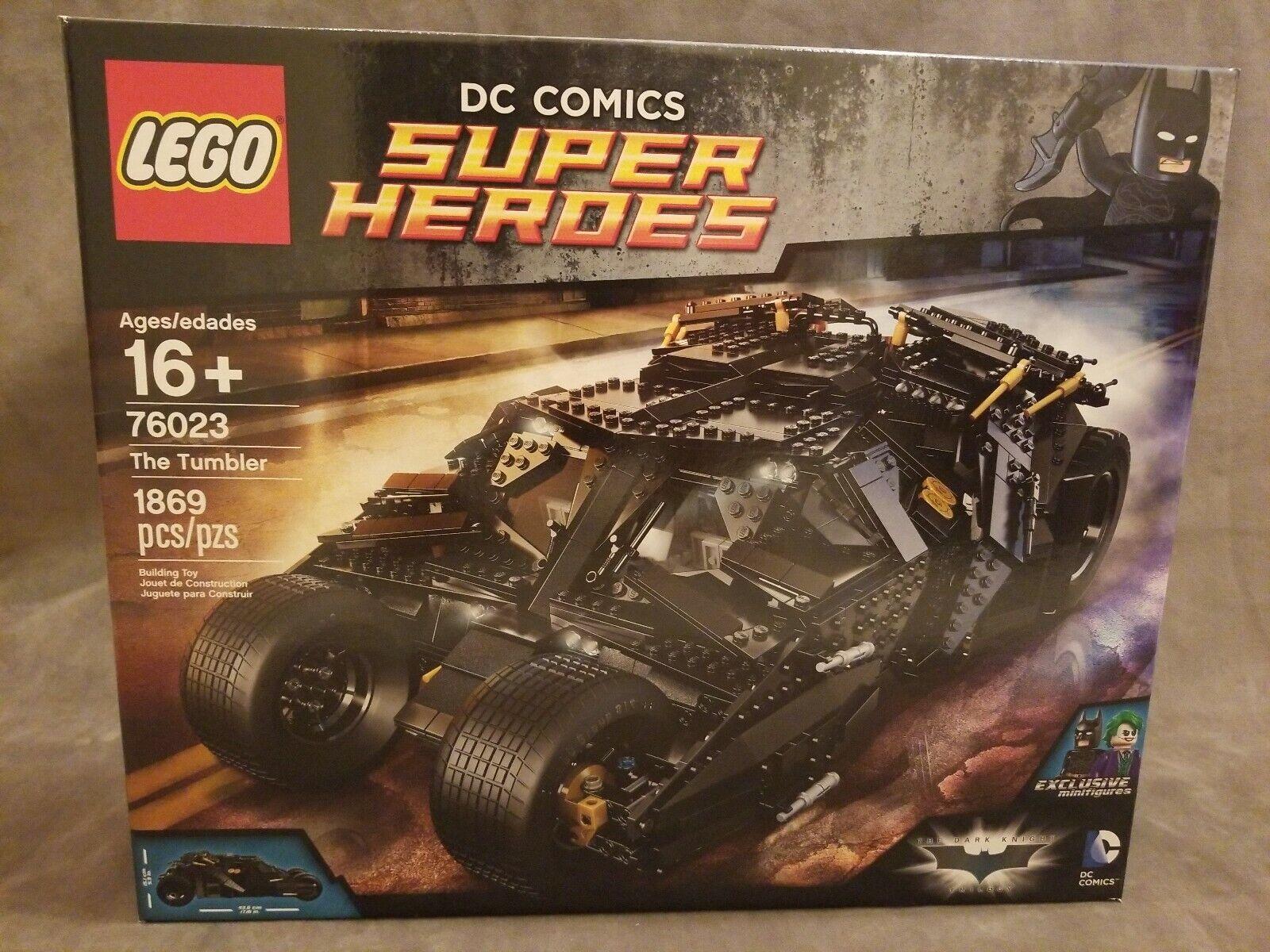 LEGO 76023 Super Heroes The Tumbler Batuomo  Batmobile BRe nuovo & SEALED  ottima selezione e consegna rapida