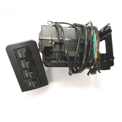 MR Hello in-Dash Upfitter Auxiliary Cluster Voltage Regulator Switch Wire Harness Wiring Jumper Kit for Ford F250 F350 F450 F550 2011 2016 Replace AL3Z13D730AA