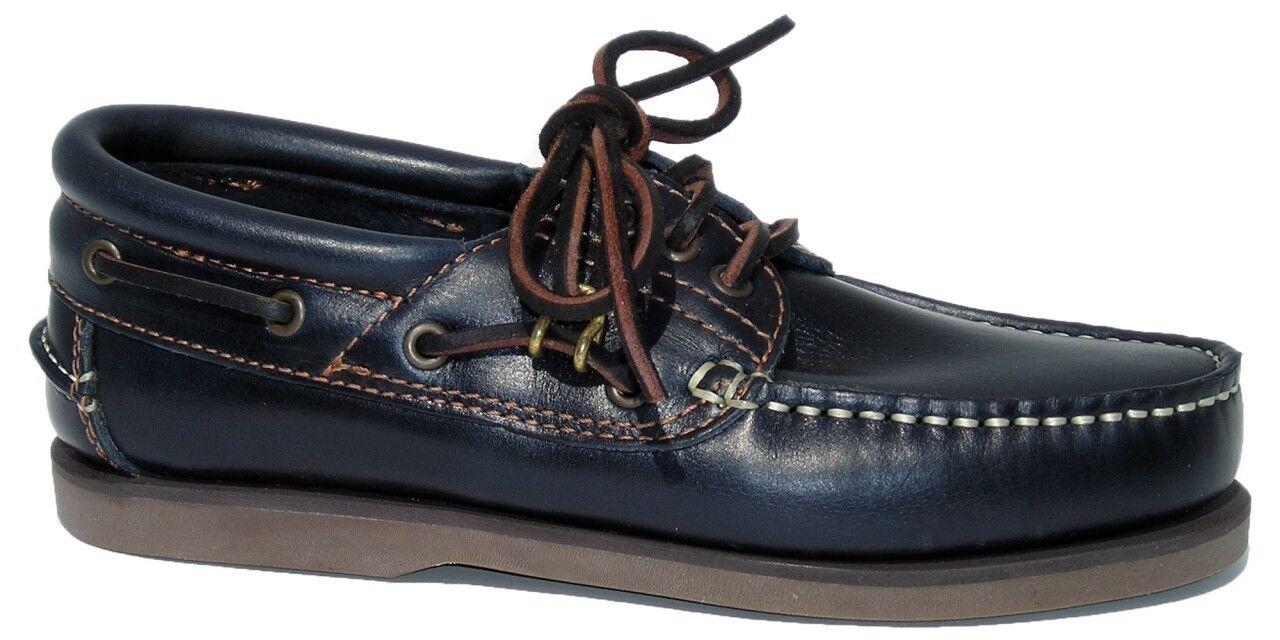 Blauport Herren Klassik Comfort Segelschuh - klassischer Stiefelschuh in blau    Ausgezeichnete Qualität