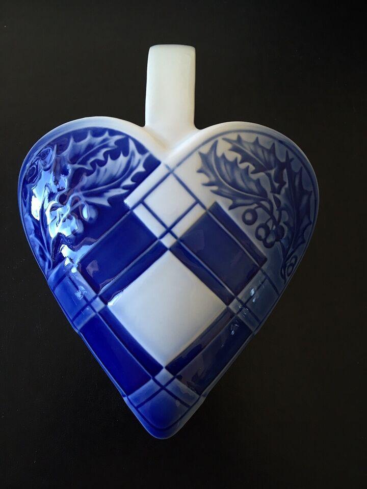 Porcelæn, Julehjerte, Bing & Grøndahl