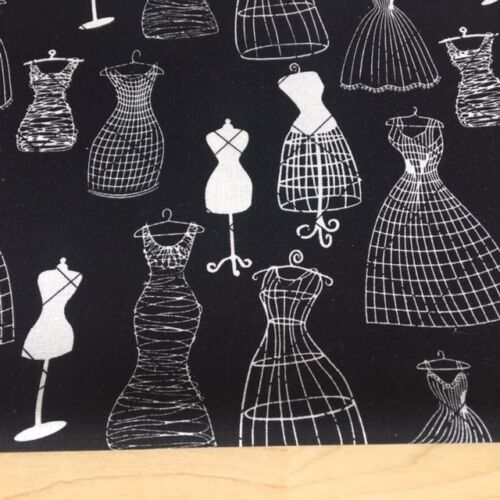 Price per 1//2 metre Shabby Chic Mannequin Linen Cotton Fabric