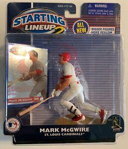 Starting Lineup 2 SLU 2000 Mark McGwire Cards MLB Baseball Action Figure,(B84)
