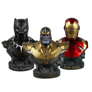 Thanos-The-Avengers-3-Infinity-War-Black-Panther-Iron-Man-Bust-Statue-18cm-7-039-039