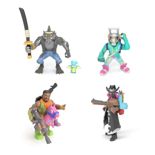 "FORTNITE BATTLE ROYALE COLLECTION PERSONAGGIO 5 CM FIGURES 2/"" 100 TO COLLECT"