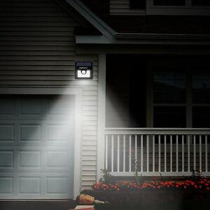 LED-Lampe-Capteur-de-Movement-Solaire-energie-ecurite-Jardin-Mural-Exterieur-FR