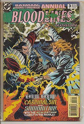 DC Comics Batman Legends Of The Dark Knight Annual #3 1993 Bloodlines NM