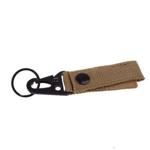 Durable Carabiner Safety Harness Buckle Water Bottle Holder Hook Belt Clip