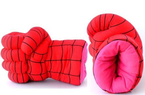 Cosplay nuovi guanti Hulk Smash mani//Spider Man morbido peluche guanto assortito