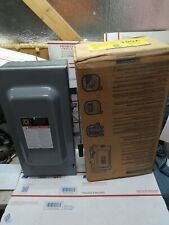 Nos Square D Du323 Safety Switch Disconnect 100 Amps 3p 240v Ed4u
