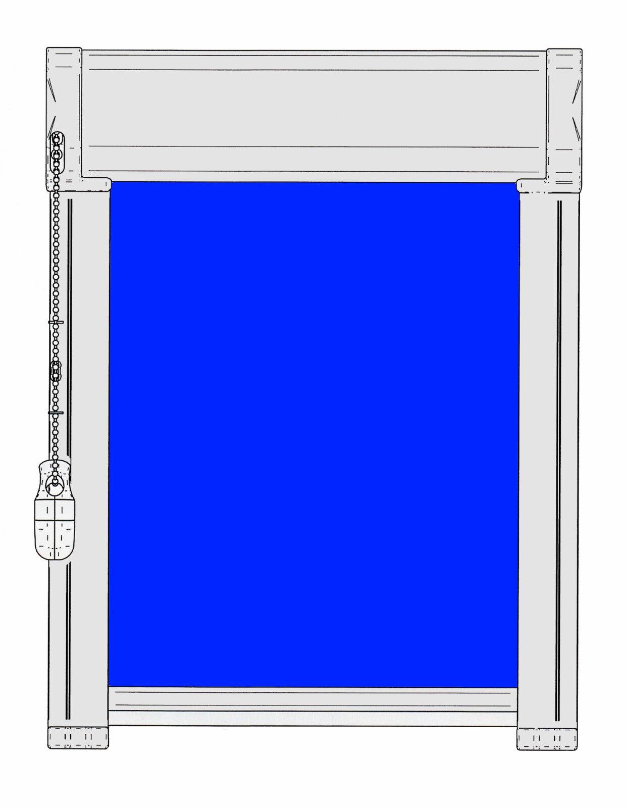 ROLLO ORG Glasleistenrollo Glasleistenrollo Glasleistenrollo Kettenzugrollo Scheibenrollo Verdunklung Klebemontage 2c5870