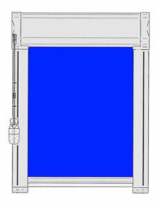 ROLLO-GLR-Glasleistenrollo-Kettenzugrollo-Scheibenrollo-Verdunklung-Klebemontage