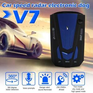 V7-Car-Safe-Radar-Detector-GPS-Speed-Auto-Vehicle-Speed-Voice-Alert-Warning