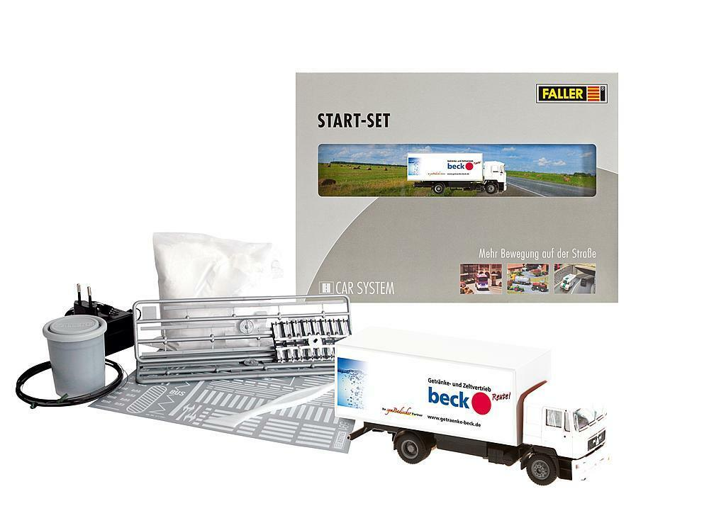 Faller 161505 h0 car sistema start set camiones MAN