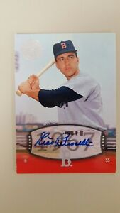 2004 Rico Petrocelli Auto  SP #17 UD Timeless Teams  Short Print  !