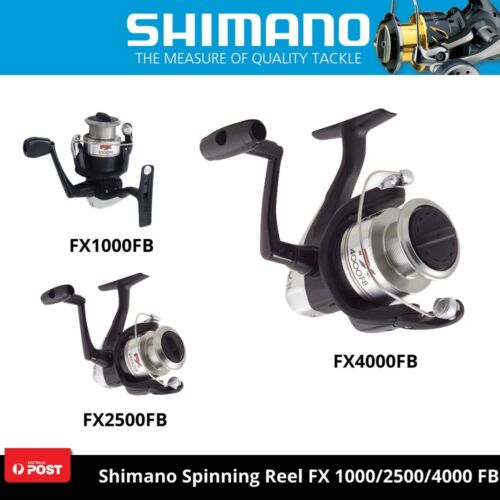 Shimano Fishing Spinning Reel FX 1000FB2500FB4000FB Dyna Balance Varispeed