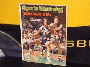 Autographed Alvan Adams Phoenix Suns Sports Illustrated Magazine