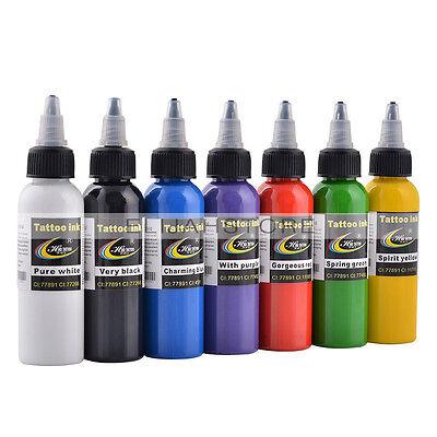 Tattoo Ink Colors >> 60ml Bottles Hao Tattoo Cosmetic Pigment Pro Permanent Makeup Ink Colors U Pick Ebay