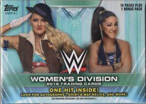 2019-Topps-WWE-Women-039-s-Division-Wrestling-Trading-Cards-Retail-Blaster-Box