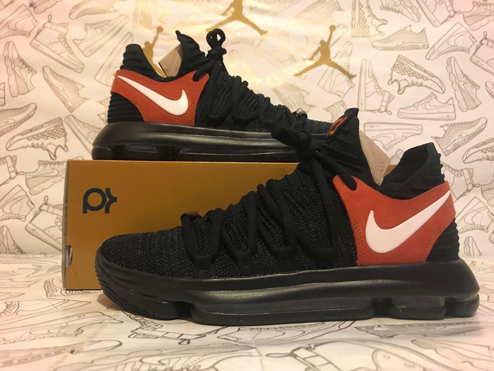 New Nike Zoom KD10 Texas Promo 938150 001 LIMITED EDITION Men Sz 8.5=