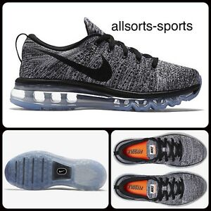 timeless design c8a90 cfdc1 Details about Nike Women's Flyknit Max UK 6 EUR 40 620659-105 Oreo Black  White