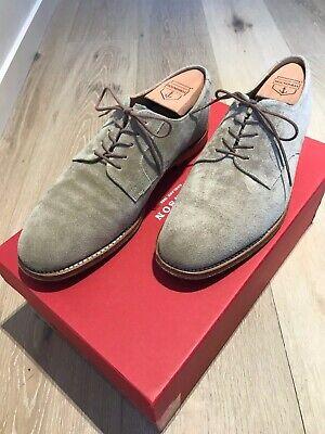Grenson LIAM Plain Toe Derby Shoes in