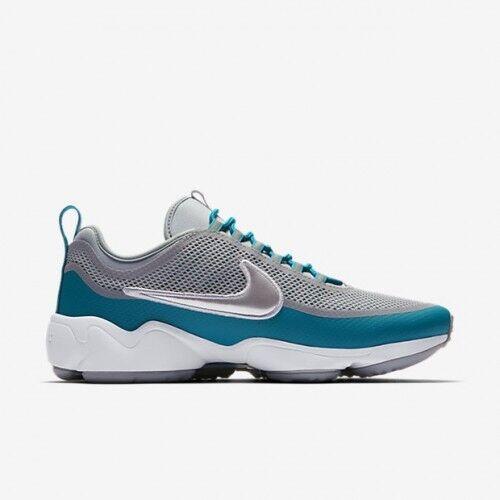 Nike Zoom Spiridon Ultra Wolf Grey Metallic Platinum Size 12  876267-004
