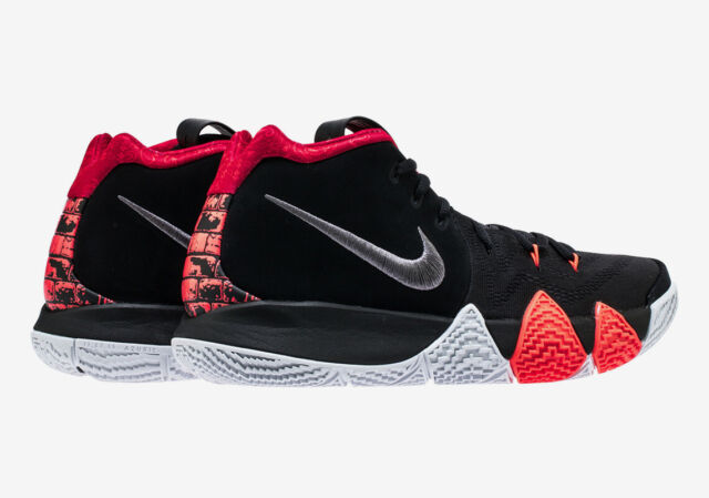 more photos 9295e f237a DS 2018 Nike Kyrie 4 'for The Ages' Black Dark Grey Sz 10.5