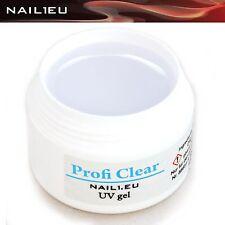 1-Phasen-Gel UV klar dick NAIL1.EU Profi Clear 7ml/ Builder Aufbau Gel Aufbaugel