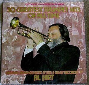 Al-Hirt-30-Greatest-Trumpet-Hits-039-79-AHED-Recs-Canada-BIG-BAND-JAZZ-SS-Double-LP