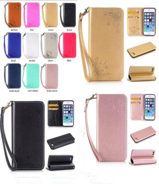 NEW Luxury Magnetic PU Leather Flip Stand Case Cover For Smart Phones