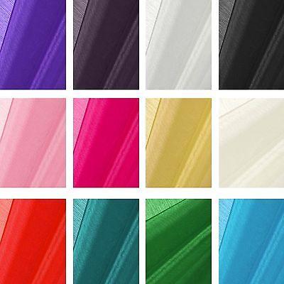 "Light Blue Sheer Organza Fabric 60/"" Wide Roll Premium Quality Draping Wedding"